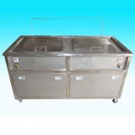 圆桶式双槽清洗机