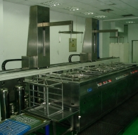 浙江SYK-PLC全自动双机械臂超音波清洗机